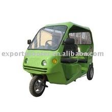 Luxury 1000W electric rickshaw with electric car design