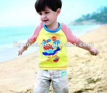 T-shirt boys design printing, fashion boys t-shirts 2012, kid garment