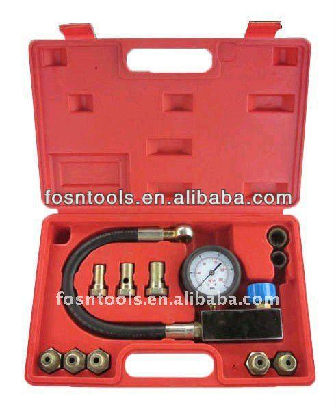 Auto Tool Set Hydraulic Operating Fluid Pressure Tester Kit