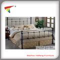 moderno diseño de la cama doble marco de muebles de metal