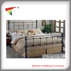 Modern design double bed frame metal furniture