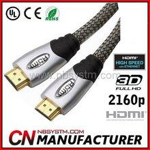Buena calidad del cable hdmi 1.4 1080p led se adapta ps3 sky hd virgen 3d 1m