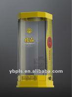 3D PET Anti-counterfeit Plastic Packaging Box