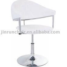 modern height adjustable swivel PU seat with chromed base JR-6088-1 bar stool