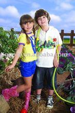 Children's clothing sets chinese kids wear brand child garment factory