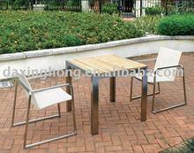 Poluar Stainless steel rattan Outdoor Furniture