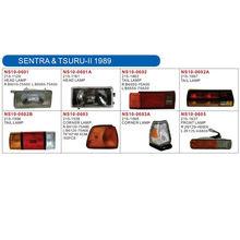 SENTRA & TSURU-II 1989auto lamp (head lamp,corner lamp,side lamp,tail lamp,front lamp,fog lamp,back lamp) and body parts