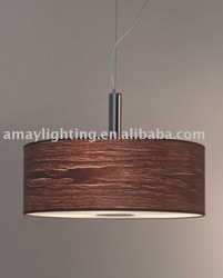 America simple style wooden cristal pendant lighting MD2051