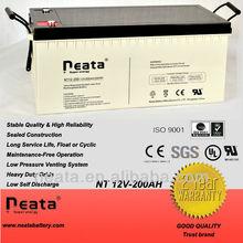 Solar power system battery 12V 200Ah