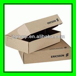 brown kraft paper shipping corrugated paper electronic box