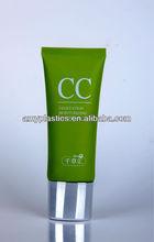 Cosméticos embalagem creme cosmético tube