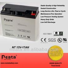 12v 17ah VRLA UPS battery