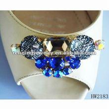 2012 popular blue acrylic shoe buckle