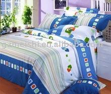 cotton cartoon printed children bedding set