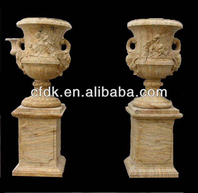 Maceta de piedra natural productos de jard n de piedra - Macetas de piedra para jardin ...