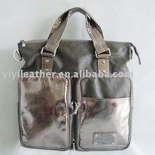 91229-2012 Fashion Hand Bag,wholesale silver tote bags, special handbag