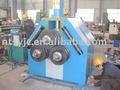 Steeinoxidable, barra de acero plegado de la máquina& del cono de acero plegado de la máquina