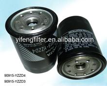 TOYOTA OEM Oil Filter 90915-YZZD4 for Toyota Prado 2700/3400/4000 Hiace Lexus