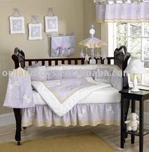 100% Cotton european baby bedding set