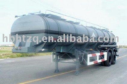 3 axle liquid asphalt tanker semi trailer