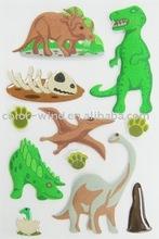 Dinosaur Fuzzy Gems Sticker