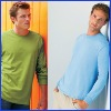 Men's fashion dry fit long sleeve t-shirt,round neck long sleeve t-shirt