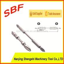 Machinery industrial parts tools /PH2 1/4'' screwdriver bits