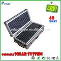 40w portátil solar home system