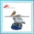 Animal da resina estatueta para decoração de