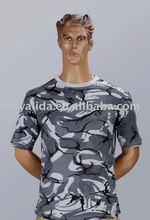 Camo Military Fashion Cheap Army British Ocean All-Cotton T shirt