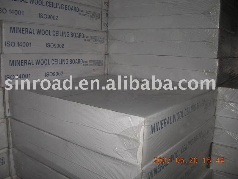 Mineral Fiber Board False Ceiling Acoustic Mineral Fiber Ceiling