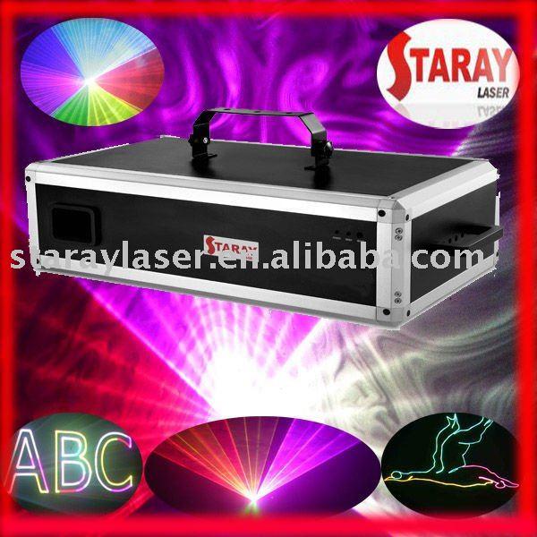 A-3000RGB professional rgb animation laser light