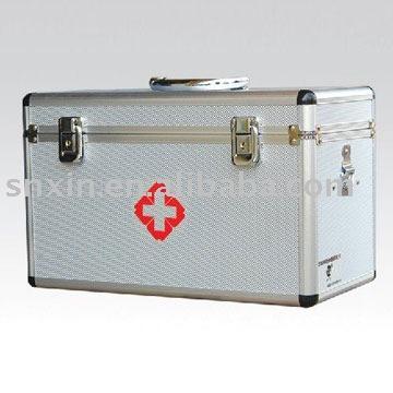 Aleación de aluminio de primeros auxilios caja de consumibles