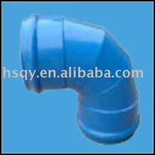 High pressure PVC plastic 90 degree PN16 steel plastic elbow