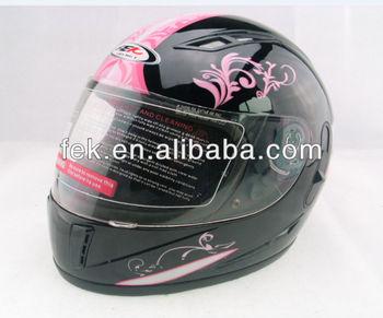 full face helmet with double visors