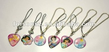 promotional hanging aluminum tag key chain
