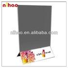 Acrylic menu card holder
