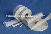 PU coated fiberglass sleeve for heat resistant