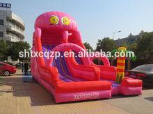 octopus design giant Inflatable Slide
