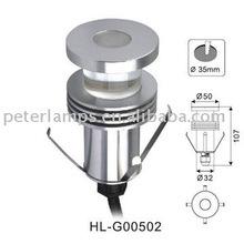 LED mini bollard,led garden lawn light,led lawn lamp 1W IP65