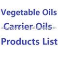 1kg aceites vegetales- aceites del portador de la lista de productos