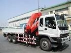 ISUZU 10-16 tonsTruck mounted crane,crane truck
