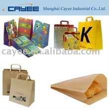 Kraft paper bag, Shopping paper bag, paper carrier bag