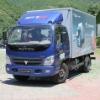 blue 1.5ton 103hp Foton van truck
