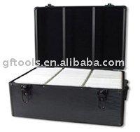 aluminum CD DVD case, CD DVD mega case, CD DVD storage case, aluminum storage case