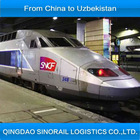 from China to Uzbekistan freight company in China