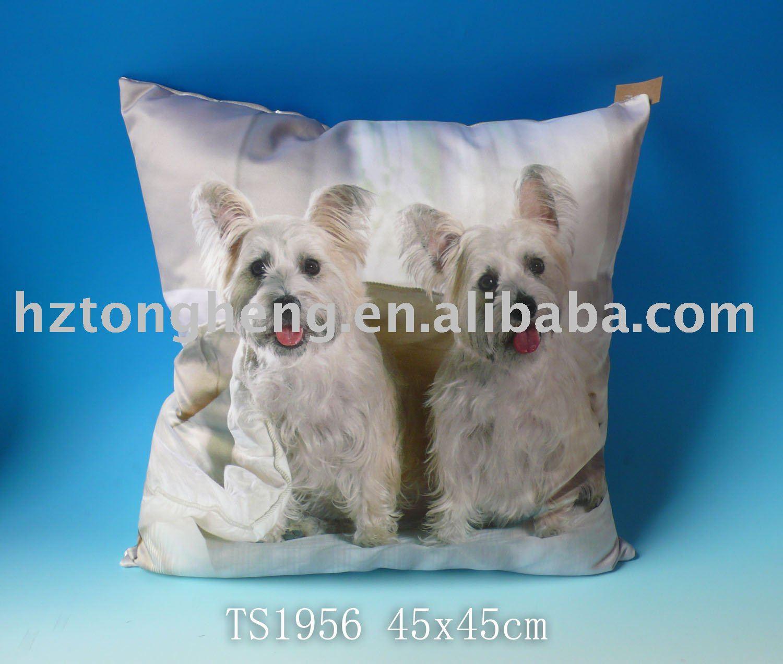 Dog Printed Design Cushions