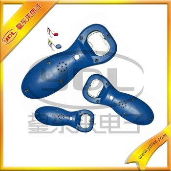 Customized plastic music bottle opener
