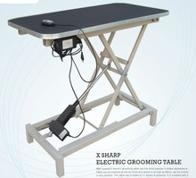 X-shap electric grooming table pet grooming table