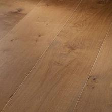 Wide plank european oak engineered wood flooring
